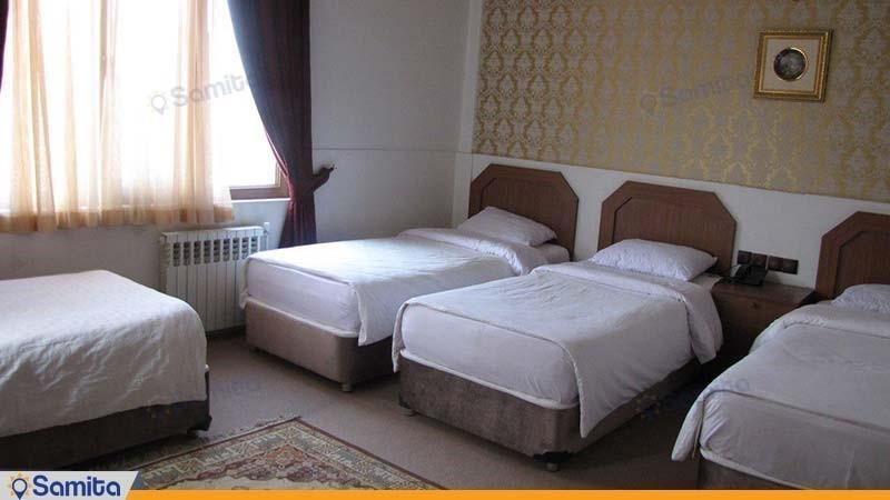 اتاق چهار تخته هتل امیر کبیر کرج