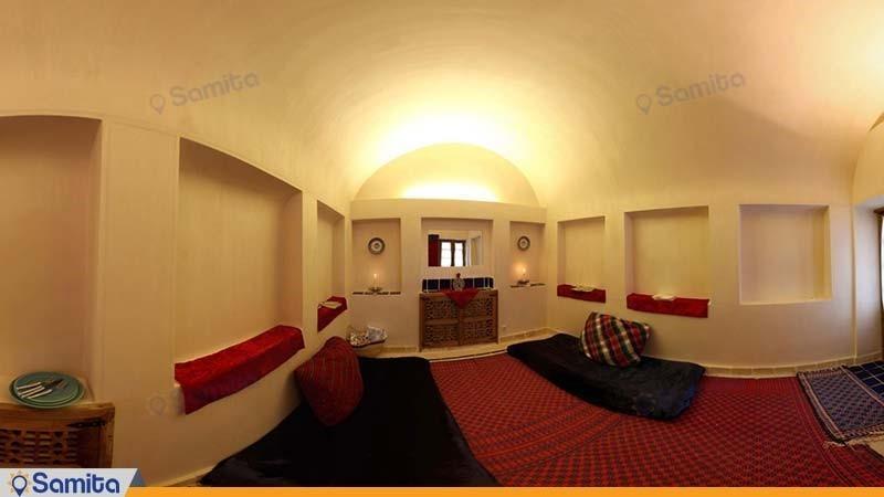 اتاق پرده سرای هتل سنتی خانه ایرانی