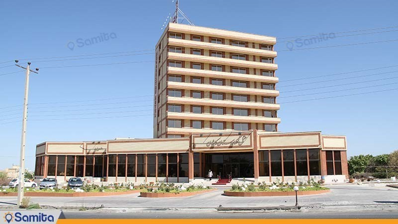 نمای ساختمان هتل نگارستان