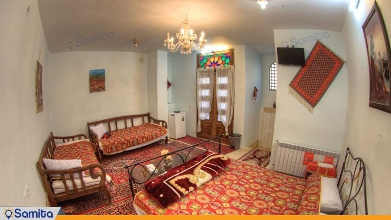 اتاق دبل هتل سنتی نگین کاشان