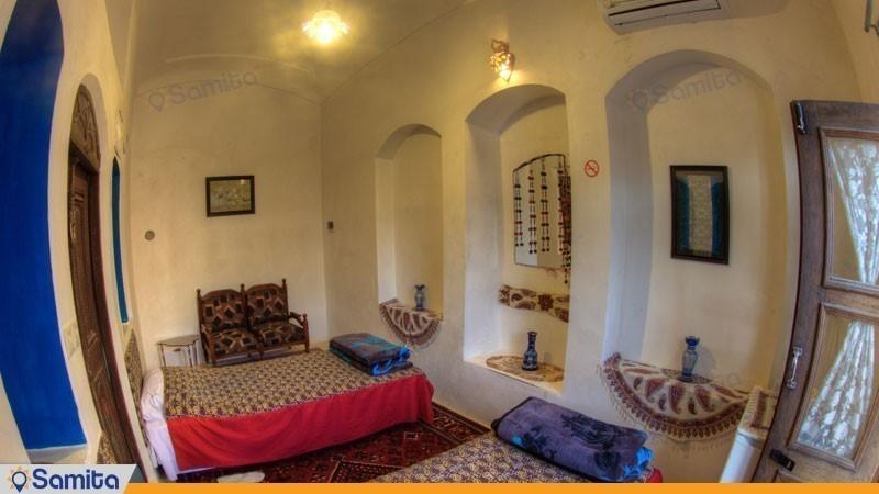 اتاق دو نفره هتل سنتی نگین کاشان