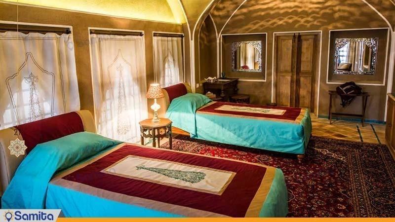 اتاق دو تخته هتل بوتیک سرای عامری ها