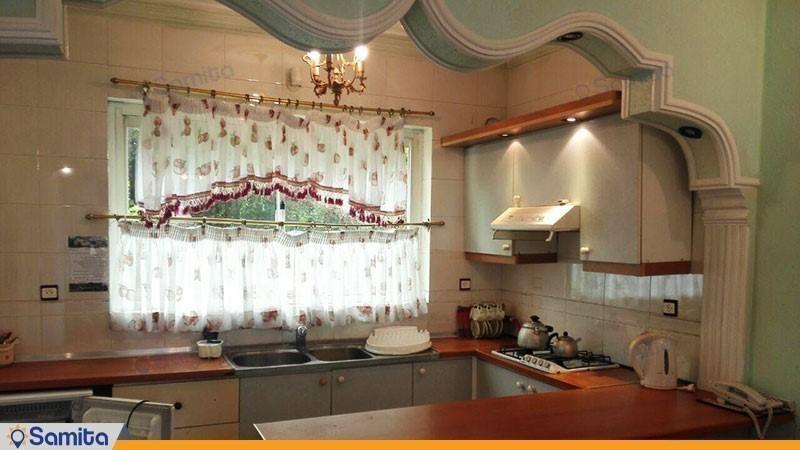 آشپزخانه ویلا هتل پارسیان کلاردشت