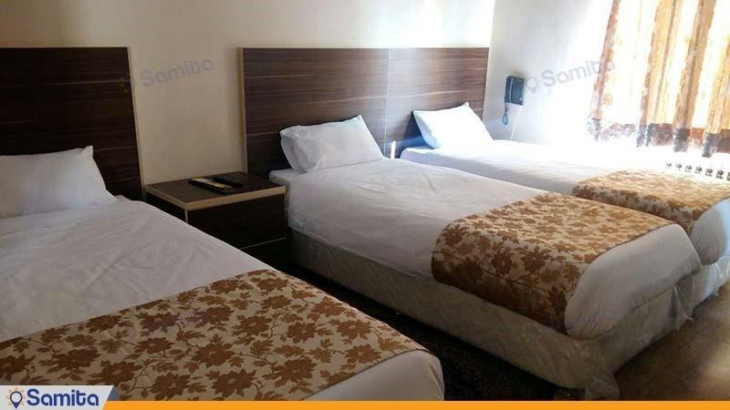 اتاق سه نفره هتل کرمان