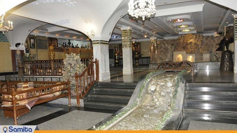 لابی هتل جمشید کرمانشاه