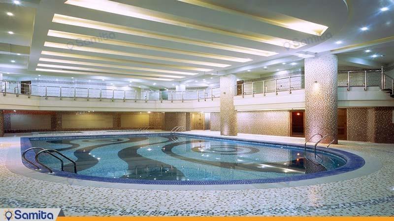 استخر هتل پارسیان کرمانشاه