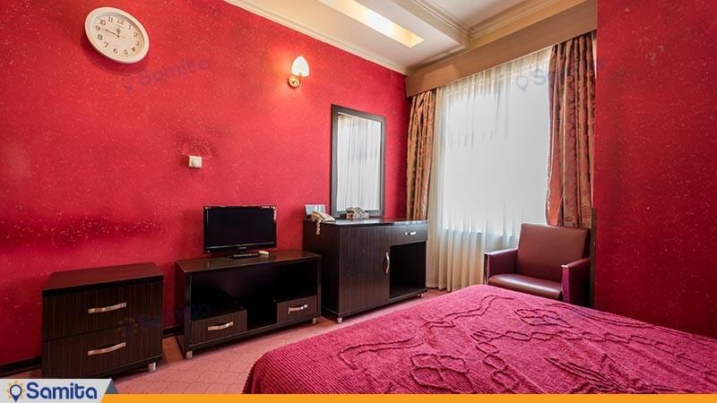 اتاق دو تخته هتل رنگین کمان