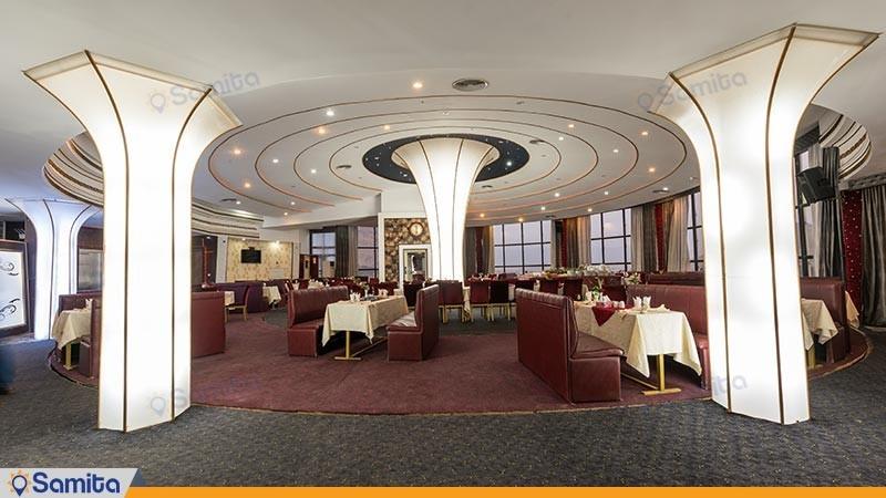 رستوران هتل رنگین کمان