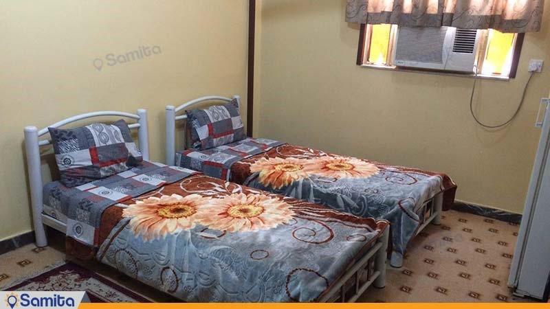 اتاق دو تخته هتل نگین اروند
