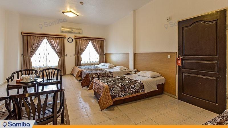 اتاق چهار تخته هتل آفتاب شرق