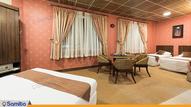 اتاق چهار تخته هتل آرامش