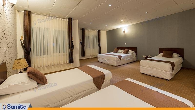 اتاق پنج تخته هتل آرامش