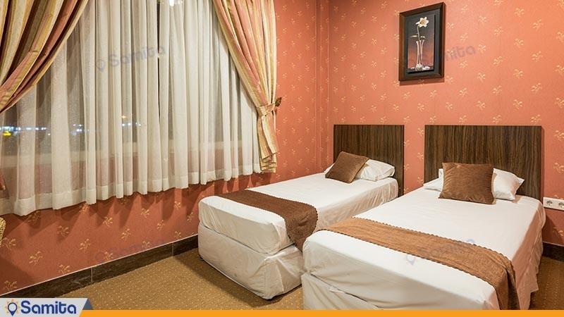 اتاق دو تخته توئین هتل آرامش