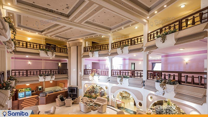 طبقات هتل آریان
