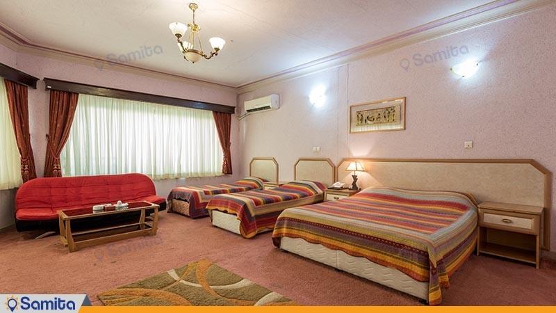 اتاق چهار تخته هتل آریان