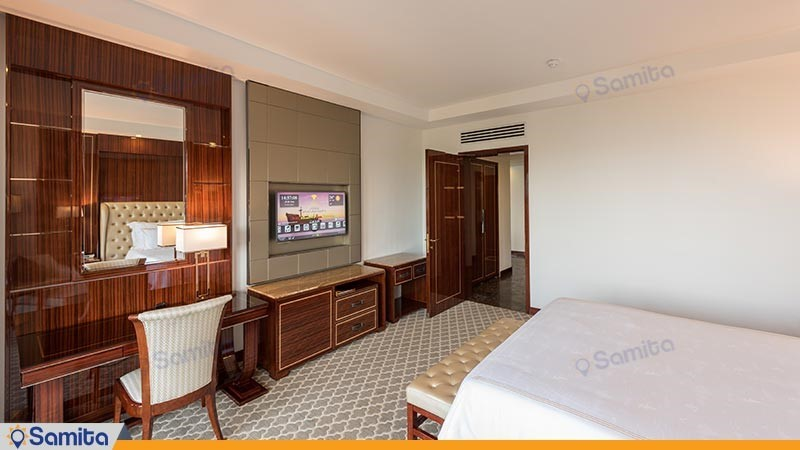 سوئیت لوکس یک خوابه آتوسا رو به دریا هتل داریوش