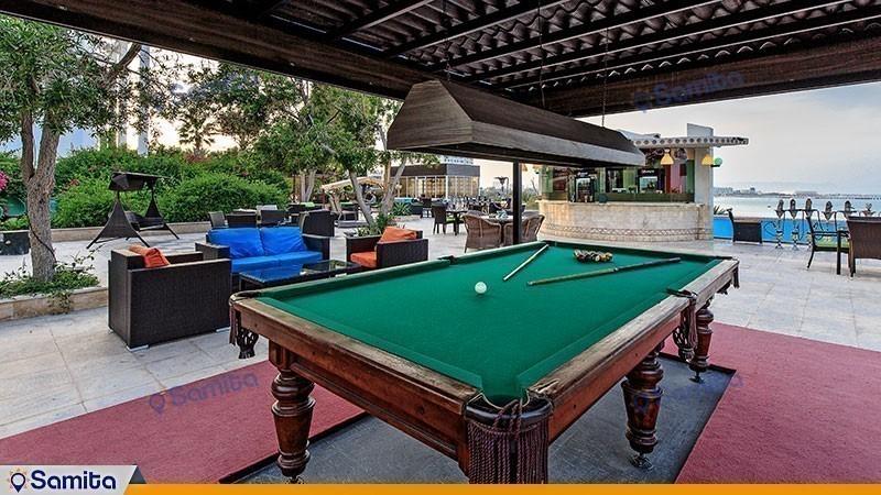 میز بیلیارد هتل داریوش