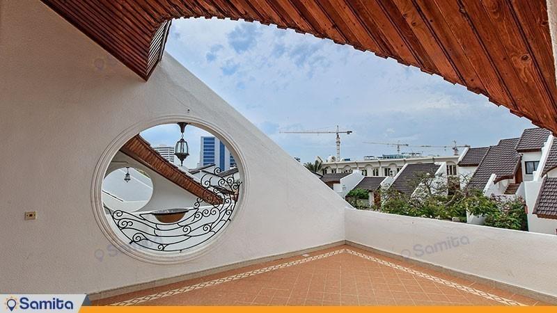 محوطه هتل فلامینگو