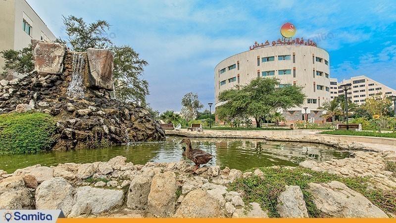 نمای ساختمان هتل فلامینگو