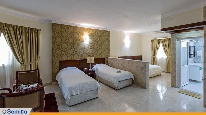 اتاق چهار تخته هتل فلامینگو