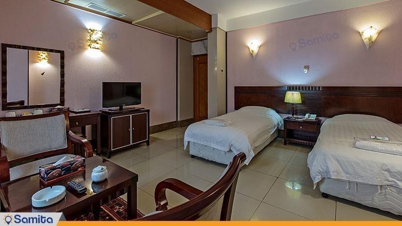 اتاق دوتخته هتل فلامینگو