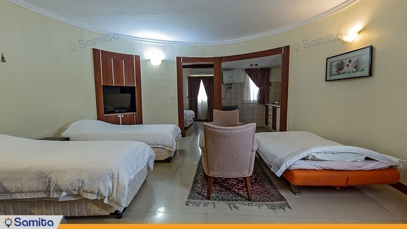 ویلا سه تخته هتل فلامینگو