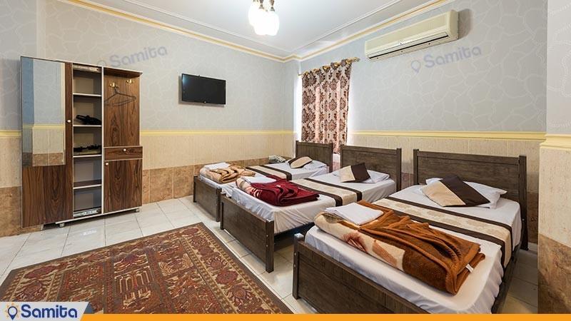 سوئیت یک خوابه پنج نفره هتل ققنوس