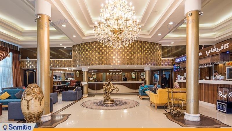 لابی هتل هلیا