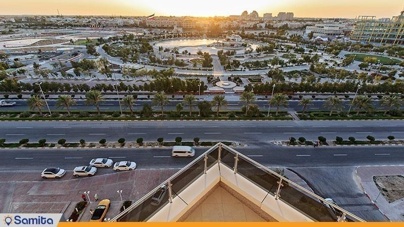 چشم انداز هتل ایران کیش