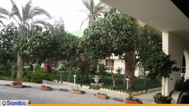 حیاط هتل لوتوس