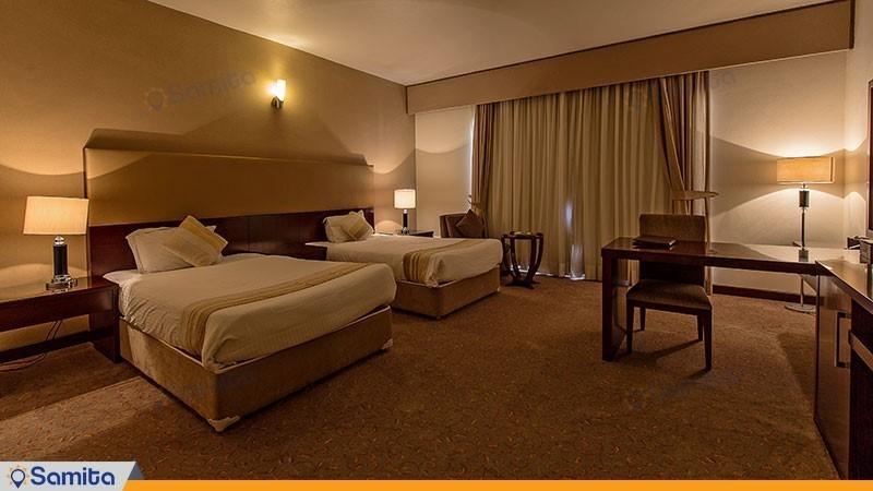اتاق دو تخته هتل مارینا پارک