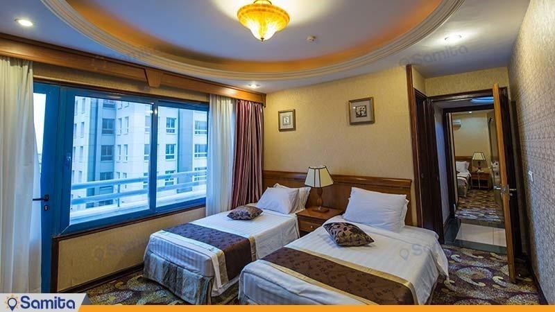پنت هاس سه خوابه هتل پارمیس