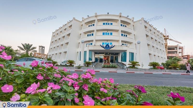 نمای ساختمان هتل سارا