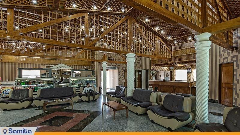لابی مجموعه ویلاهای هتل شباویز