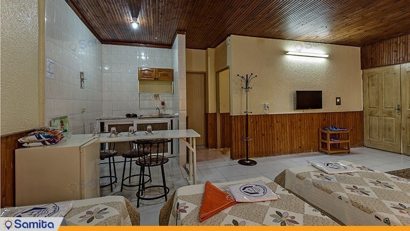 اتاق پنج تخته مجموعه ویلاهای هتل شباویز