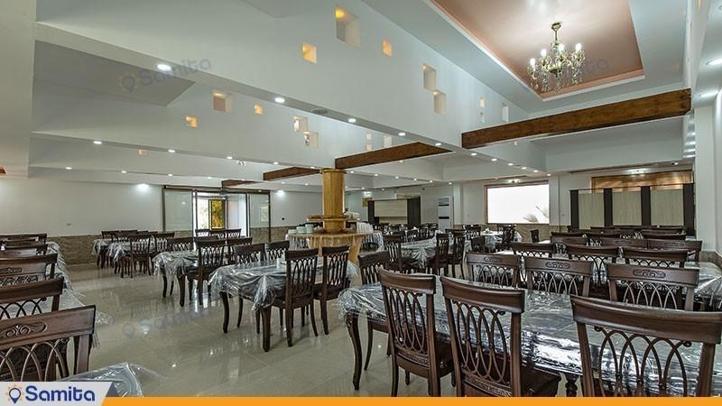 رستوران مجموعه ویلاهای هتل شباویز