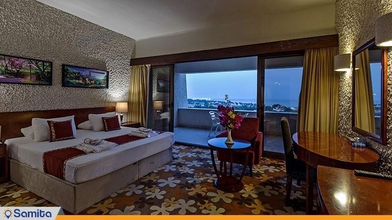 اتاق دوتخته رو به دریا هتل شایان