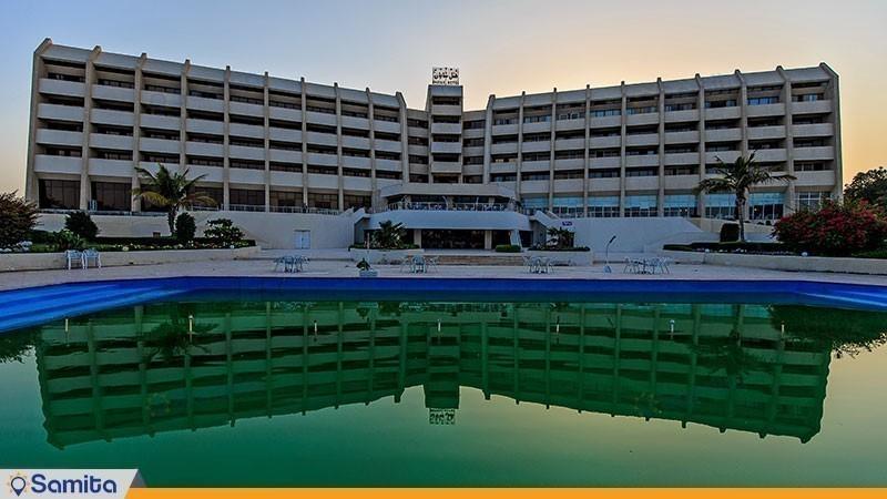 نمای ساختمان هتل شایان