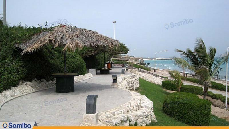 پارک ساحلی هتل سیمرغ کیش