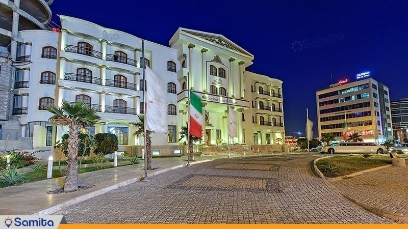 نمای ساختمان هتل سورینت مریم