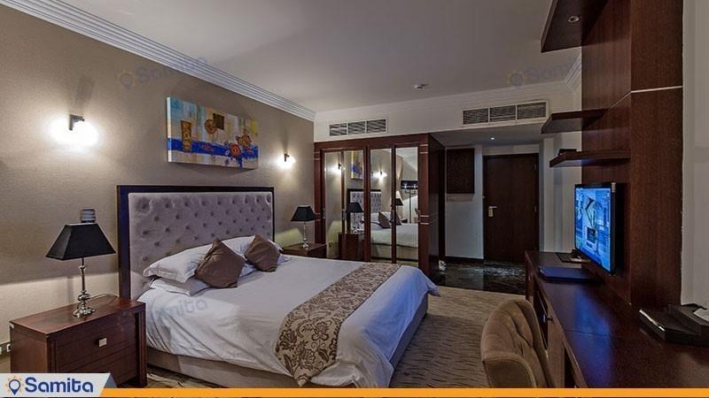اتاق دوتخته دبل استاندارد هتل سورینت مریم