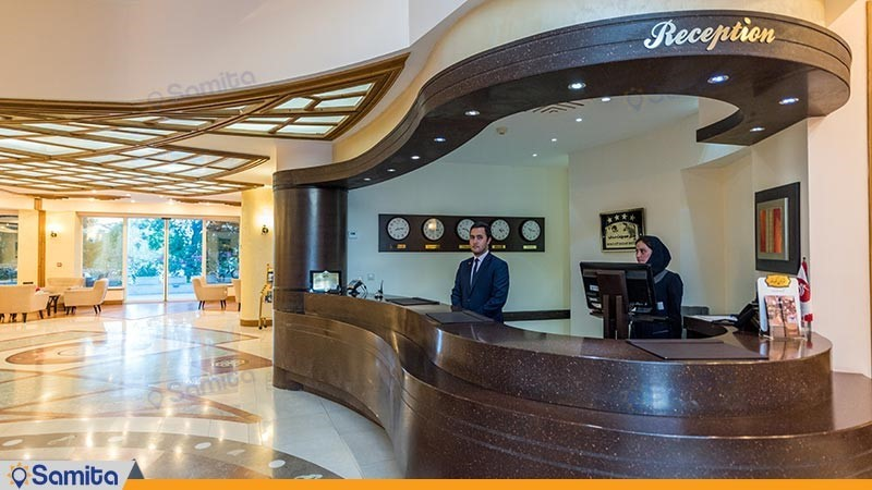 پذیرش هتل سورینت صدف