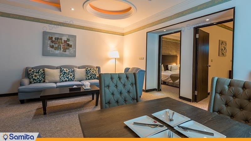 سوئیت دو خوابه هتل سورینت صدف