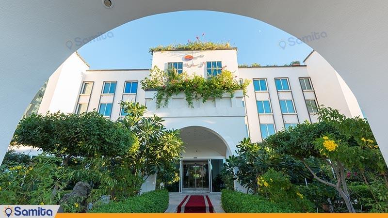نمای ساختمان هتل سان رایز