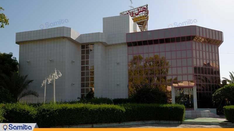نمای ساختمان هتل ونوس کیش