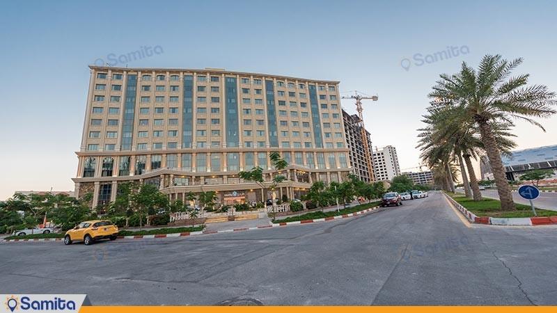 نمای ساختمان هتل ویدا