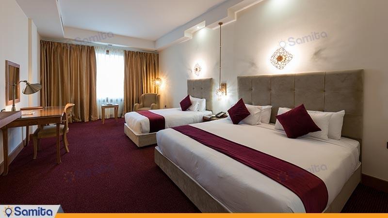 اتاق سه تخته هتل ویدا