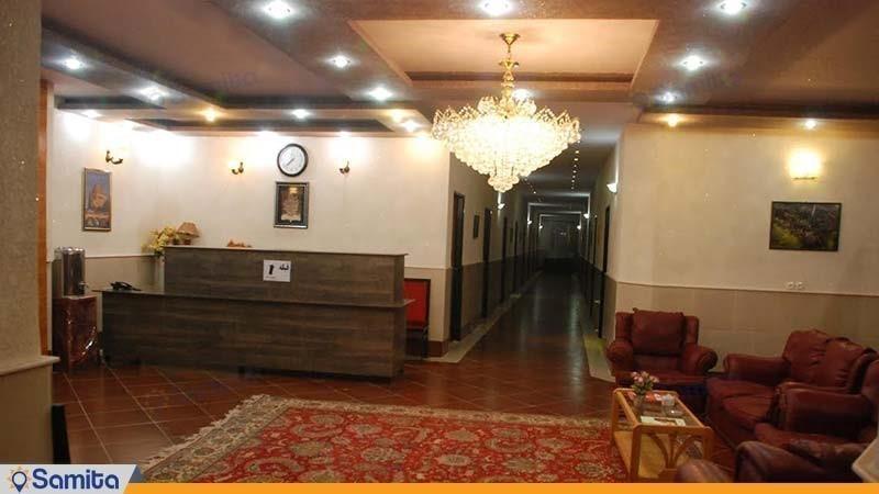 لابی هتل البرز لاهیجان