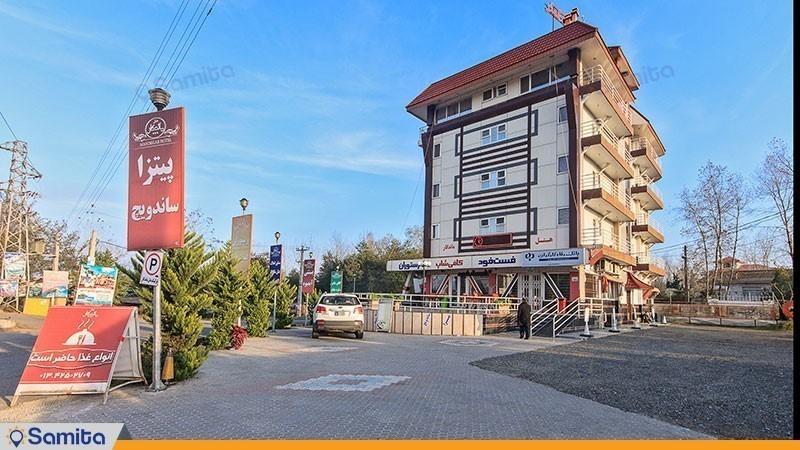 نمای ساختمان هتل ماندگار