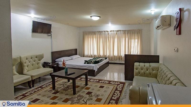 اتاق سه تخته هتل ماندگار